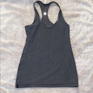 Grey Lululemon Reversible Cool Racerback Tank
